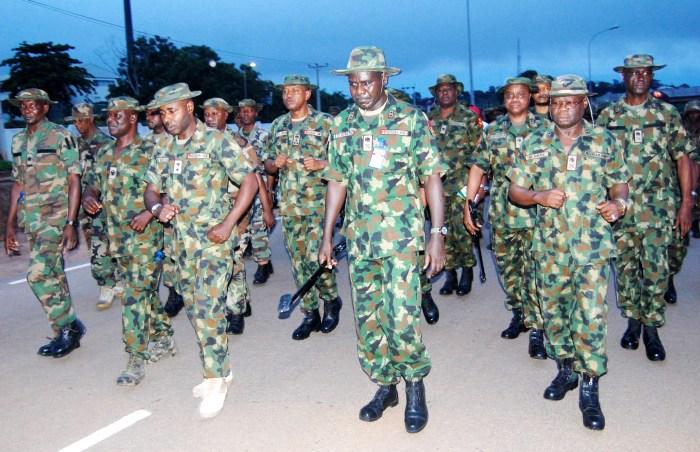 Nigerian Army Tukru