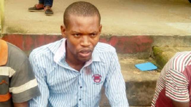 Richard Effiok, murdered his 23-year-old girl friend, Bassey Udoh, from Akwa Ibom State after she refused to accept N1000 out of the N5, 000 she demanded after three rounds of sex. (Photo Credit: Cross River Watch)