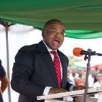 Dino Melaye Governor Udom Emmanuel of Akwa Ibom State Leader
