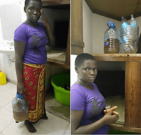 19-year-old Kenyan housemaid arrested for using her urine to prepare meals for her employers |  Modern Kenya Corps Facebook