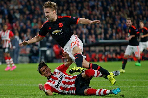 Moreno's horror tackle on Luke Shaw (Photo Credit: Reuter/ Andrew Couldridge)