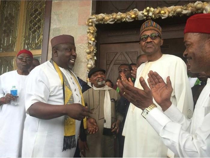Rochas Okorocha, Muhamadu Buhari