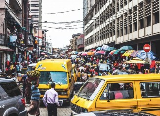 noisy area Lagos Nigeria Lagos Market