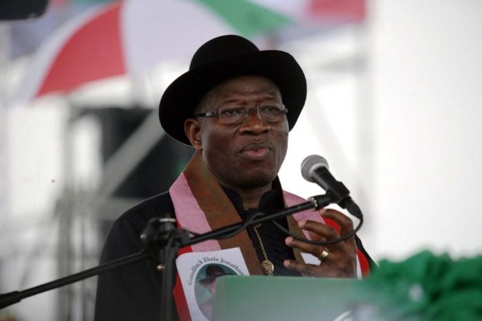 PDP Goodluck Jonathan APC PDP