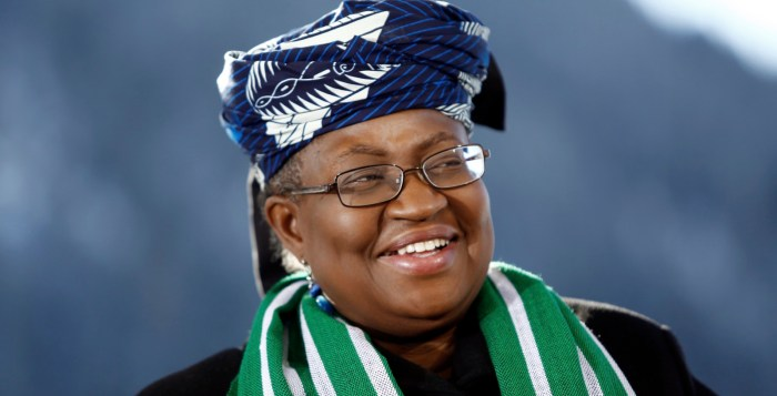 Okonjo-Iweala world trade organisation wto