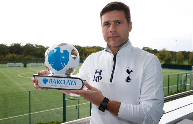 Mauricio Pochettino is the Barclays Premier League manager for September 2015