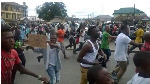 Image result for port harcourt riot