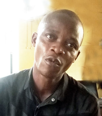 Nelson Oamen who stabbed his father to death in Lagos State | Punch