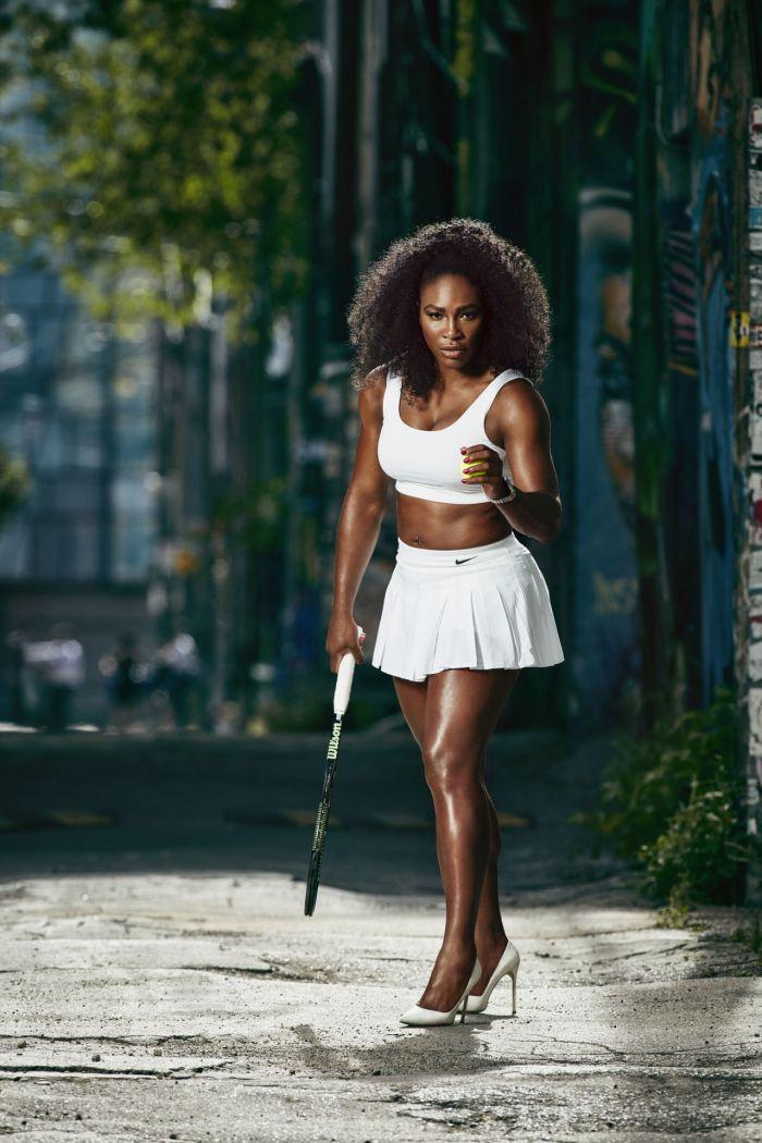 Serena Williams   Douglas Friedman/Harpers Bazaar