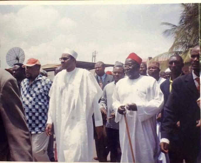 Buhari and Ojuwkwu