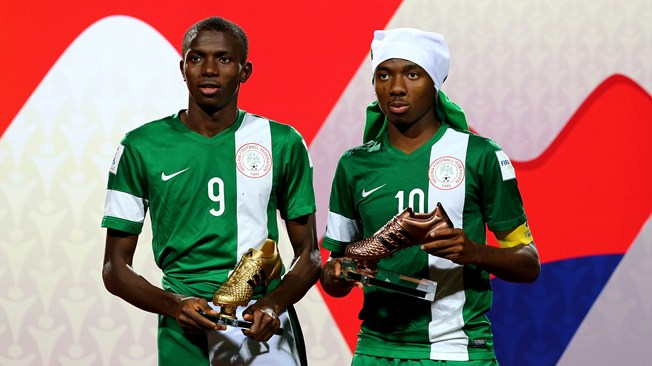 Victor Osimhen and Kelechi Nwakali | Getty Images