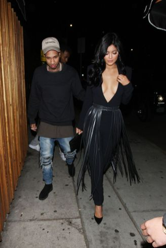 Kylie Jenner and Tyga head to the Nice Guy club in West Hollywood   Splash