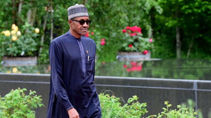 Nigerian President Muhammadu Buhari | AP