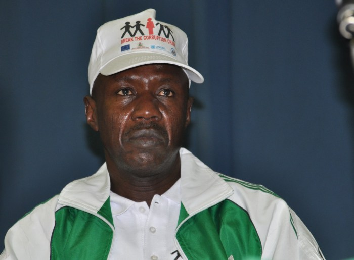 Ibrahim Magu, Chairman of the Economic and Financial Crimes Commission