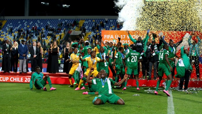 Nigeria's Golden Eaglets retain the crown. The fast and furious Golden Eagles beat Mali 2-0 in the final of the FIFA U17 World Cup Men in Chile. | Getty Images