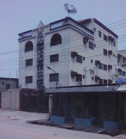 The hotel where the attack took place | Vanguard
