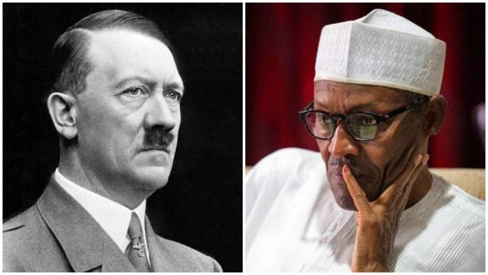 Nigerian Adolf Hitler Muhammadu Buhari