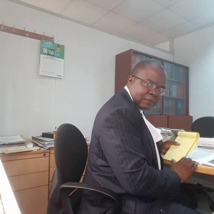 Emeka Ugwuonye, Esq. pictured in his office | Facebook
