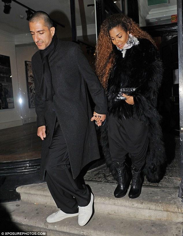Janet Jackson and husband make rare public appearance