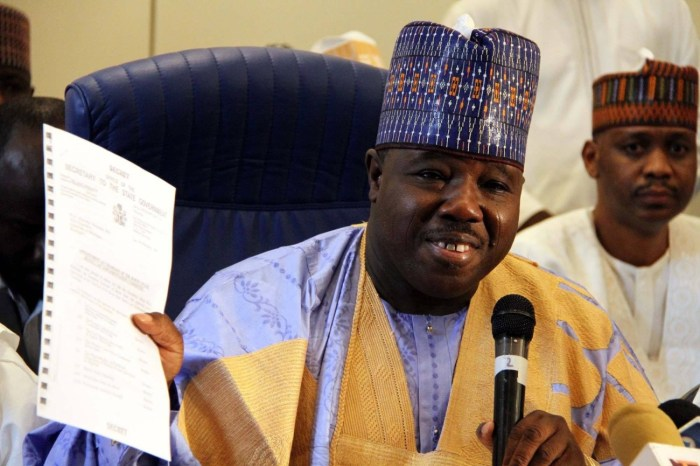 Ali Modu Sheriff, PDP, APC, Defects