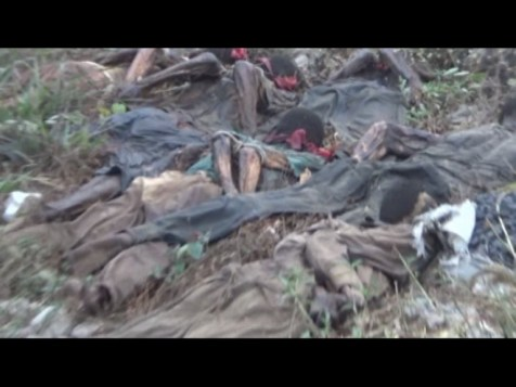 Mass grave of pro-Biafra protesters killed by Nigerian Army, Police