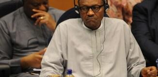 White House Nigeria's President Muhammadu Buhari