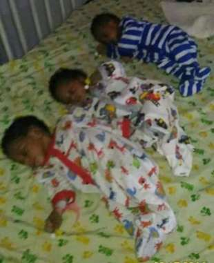 Mrs Titilayo Balogun reportedly died shortly after she gave birth to a set of triplets after three years wait in Lagos State | Ayodele Ilori/ Facebook