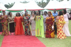 PDP women giving praise to the Almighty for grace granted the party in Rivers over the weekend. The party won the legislative rerun elections which held on March 19, 2016 | Oraye St. Franklyn
