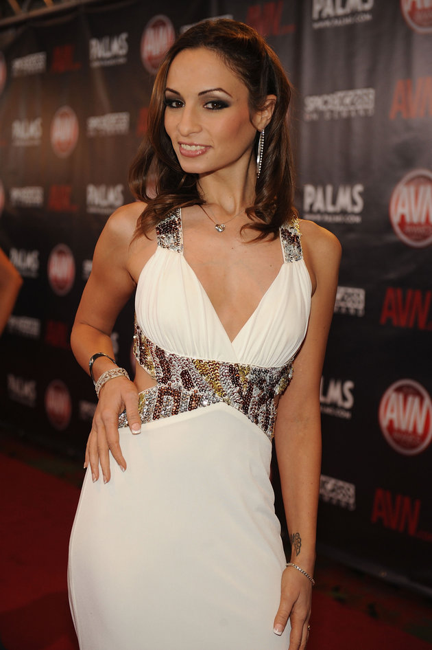FILE: Amber Rayne arrives at the 2010 AVN Awards at the Pearl at The Palms Casino Resort on January 9, 2010 in Las Vegas, Nevada. | Denise Truscello/WireImage