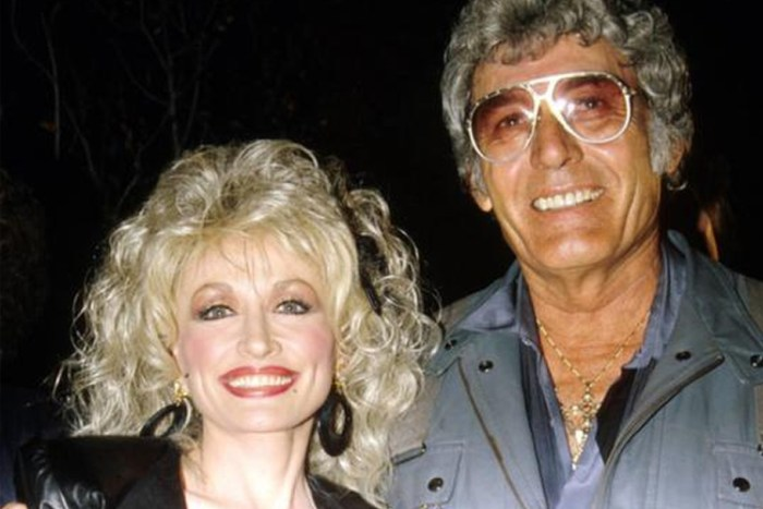 Dolly Parton and husband, Carl Thomas Dean in an undated photo