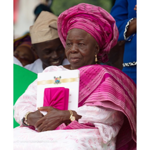 Madam Christianah Ambode, mother of Lagos Governor