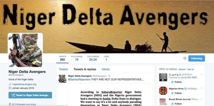 Niger Delta Avengers,