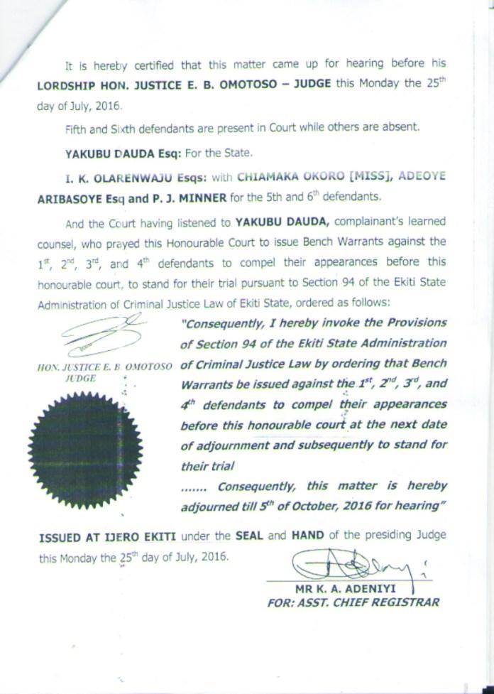 Jide Awe warrant 2