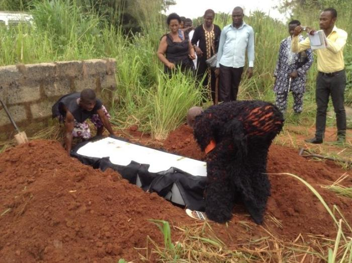 Memorial Interment Of Victims Of Igbo Heroes Day Massacres