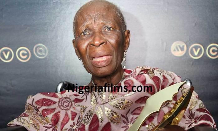 Veteran Nollywood Actress receives the Industry Merit Award at the 2016 AMVCA | Nigerian Films