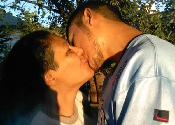 Monica Mares, a 36-year-old mother of nine, and her son, Caleb Peterson, 19, have vowed to remain together despite a court order that they should stay.