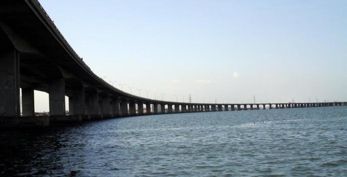 Lagos Lagoon 3rd Mainland Bridge