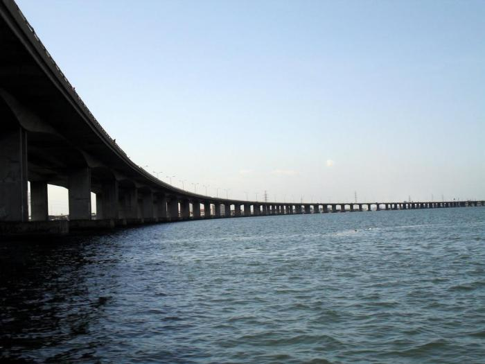 Lagos Lagoon 3rd Mainland Bridge