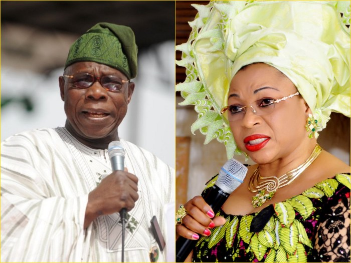 Folorunsho Alakija Obasanjo