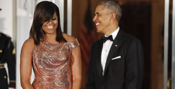 Barack Obama Mitchelle Obama