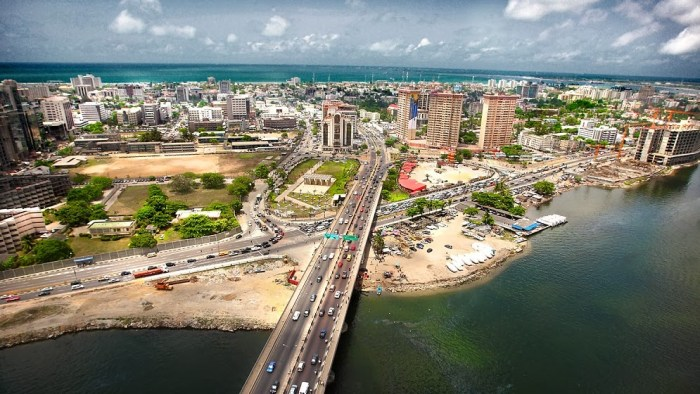 Aerial view of Victoria Island, from Ikoyi, Lagos | Photos of Nigeria Blogspot