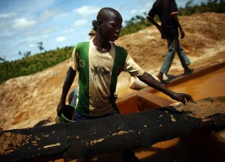 Zamfara A boy works at an illegal gold mine in northern Nigeria. Lead from these mines has sickened thousands of children in the region. | North Country Public Radio