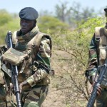 File: Photo of Senegalese soldiers