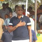 Ayodele Fayose of Ekiti State NYSC Youth Corp