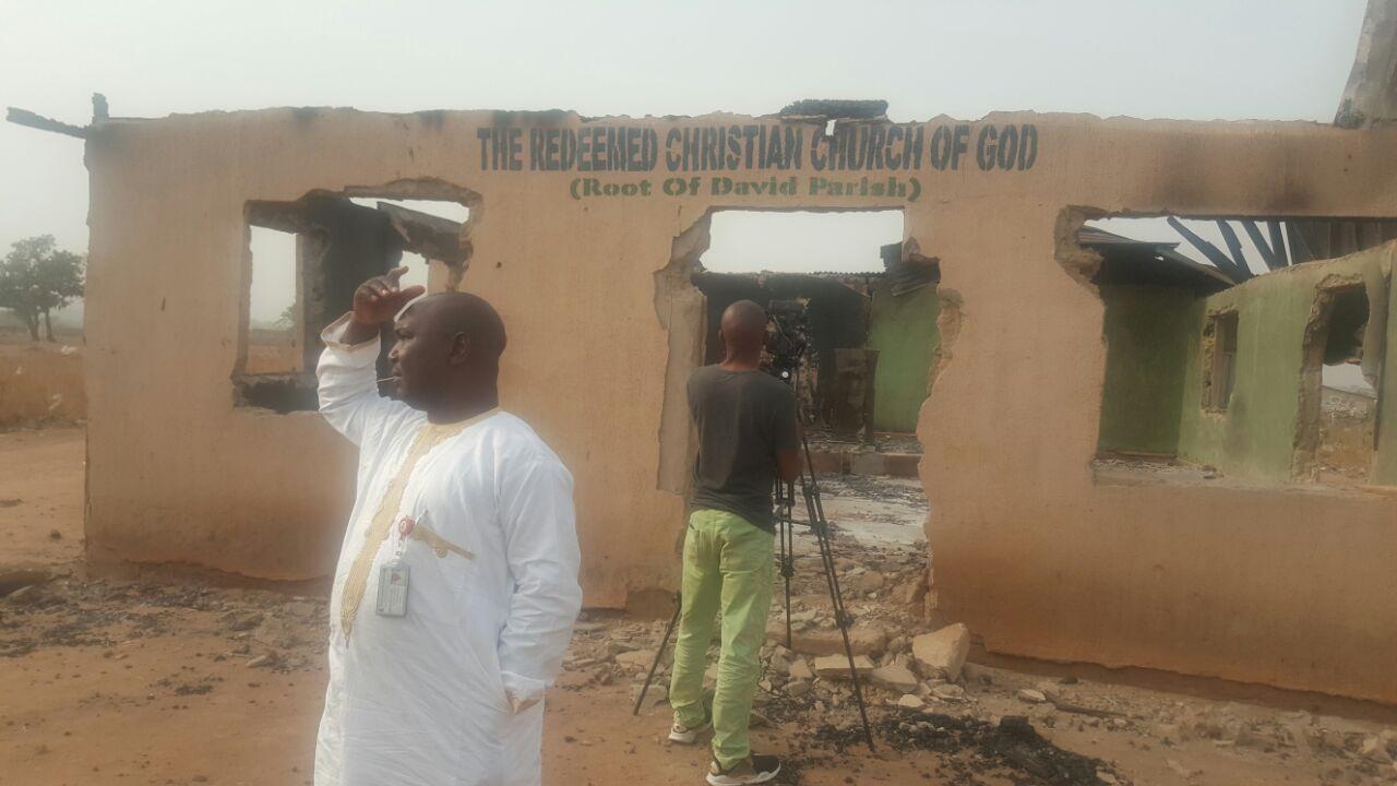 The RCCG Church in DieDie Abuja burnt down by Muslim fundamentalists