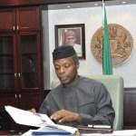 Executive Order Vice President of Nigeria, Professor Yemi Osinbajo | State House Photo