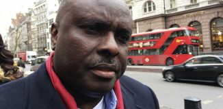 Chief James ibori, a former governor of Delta State