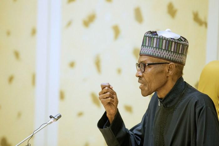 Nigeria Chibok Punch President Muhammadu Buhari addresses the nation on March 10, 2017