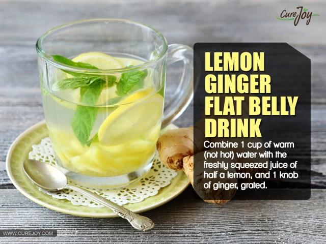 Lemon-Ginger-Flat-Belly-Drink