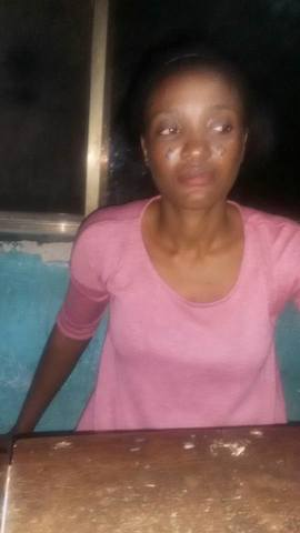 Mrs. Toyin Adeyeye, brutalised by police in Ekiti State |